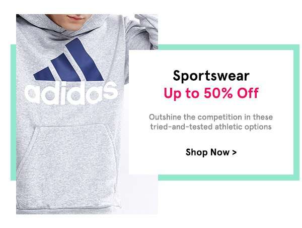 Sportswear Up to 50% Off