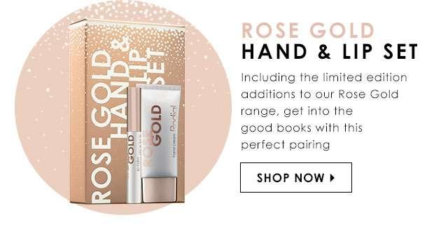 Rose Gold Hand & Lip Set