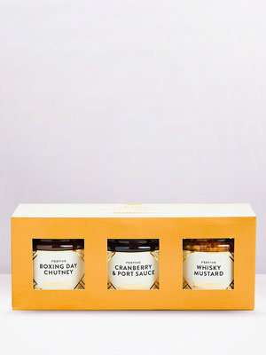 Festive Condiments Trio gift pack