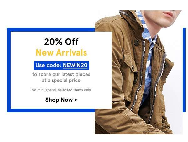 New Arrivals | Use code NEWIN20