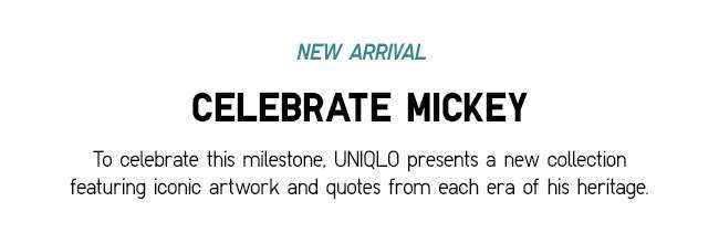 Celebrate Mickey UT Collection