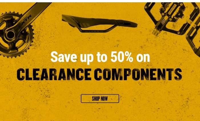 Save up to 50% on Clearance Components