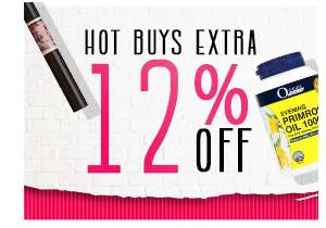 12.12 Hot Buys Extra 12% Off