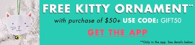 FREE Kitty Ornament!