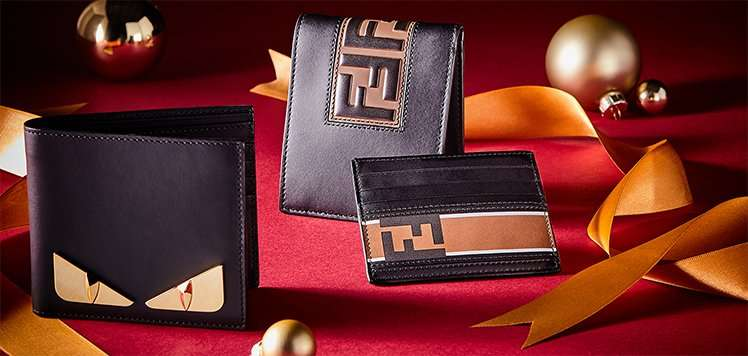 Men's Small Leather Goods With FENDI