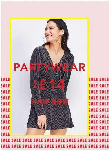 Partywear - Shop now
