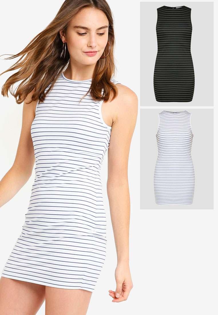 2 pack Basic Mini Dress