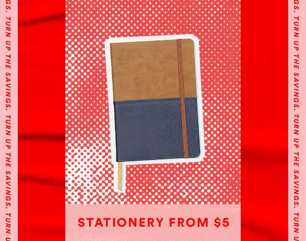 Stationery From $5 | SHOP NOW