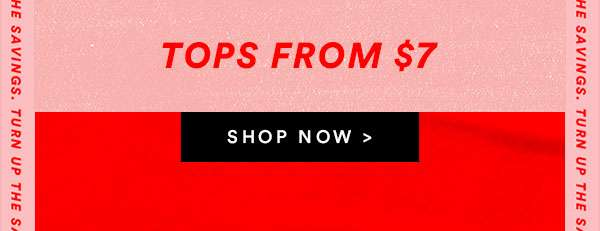 Mens Tops From $7 | SHOP NOW