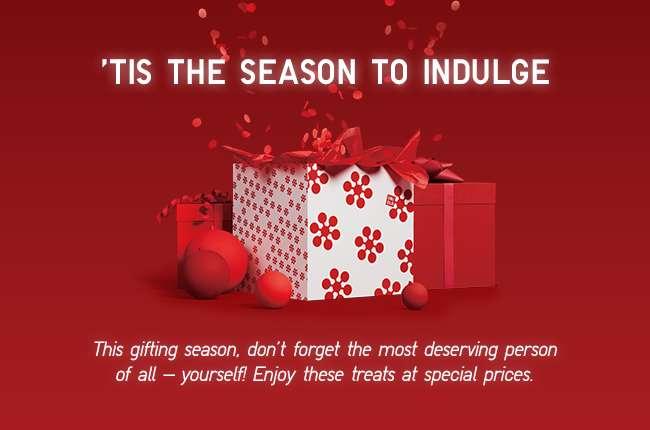 'Tis the season to indulge'