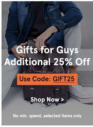 Festive Edit: Beauty & Gifts Additional 25% Off with code GIFT25
