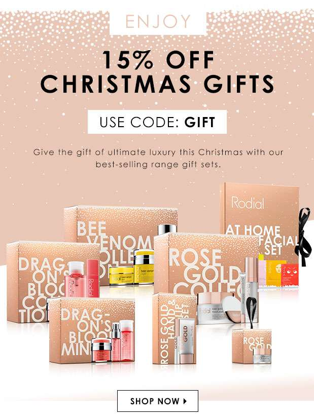 15% Off Christmas Gifts