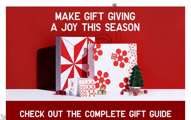 Make gift giving a joy this season, check out the complete gift guide