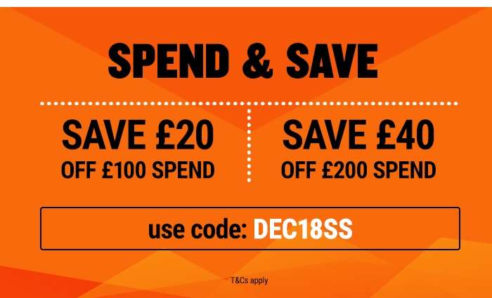 Spend and Save on Clothing, Protection and Footwear