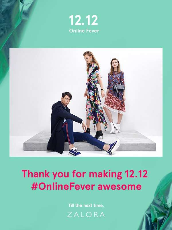 Thank You for making 12.12 Online Fever amazing!