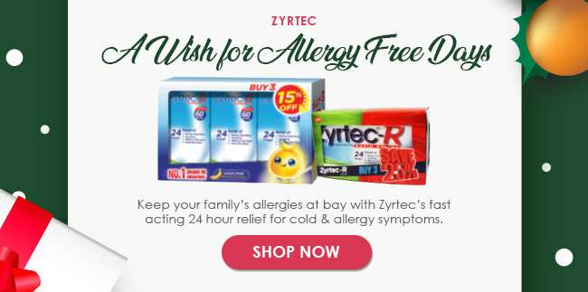 Zyrtec - A Wish for Allergy Free Days