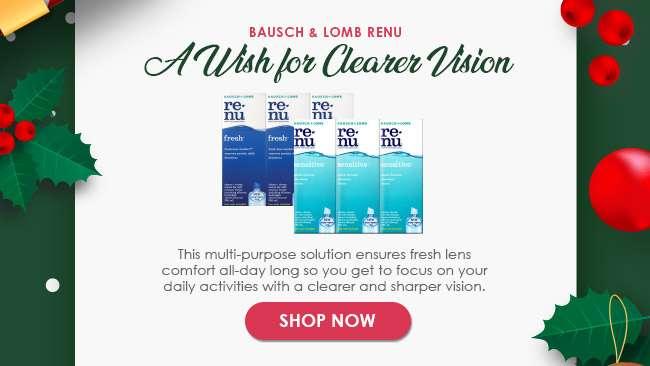 Bausch & Lomb Renu - A Wish for Clearer Vision