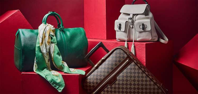Pre-Loved Travelers With Louis Vuitton