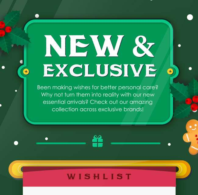 Our latest New & Exclusives for Christmas Wishlists