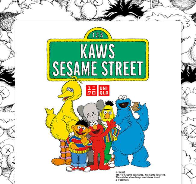 KAWS x Sesame Street   LIMITED OFFER ENDS TOMORROW