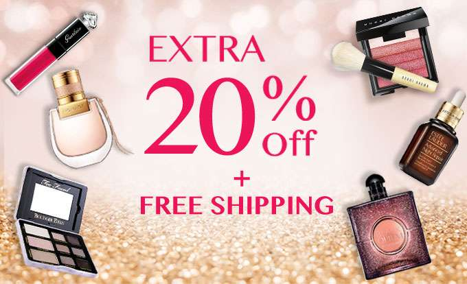 Get Extra 20% Off + Free Int'l Shipping! Offer Ends 16 Dec 2018.