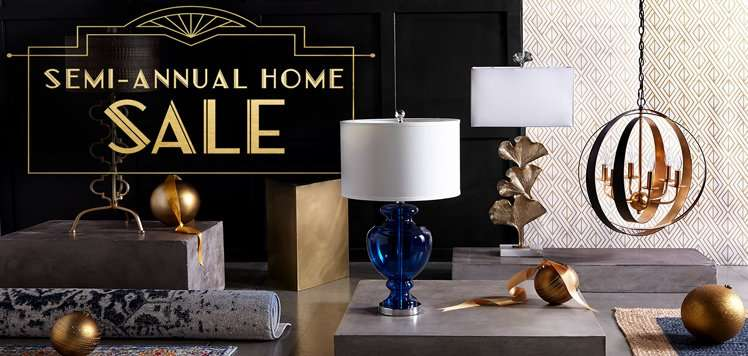 Up to 80% Off Rugs & Lighting