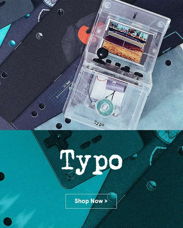 NEW IN: Typo