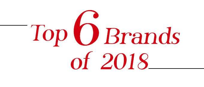 Top 6 Brands of 2017
