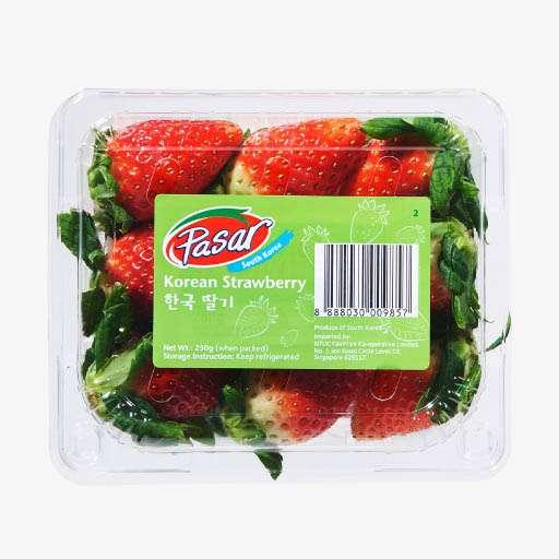 Pasar South Korea Strawberry