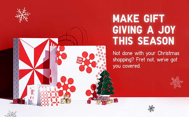 Make gift giving a joy this season