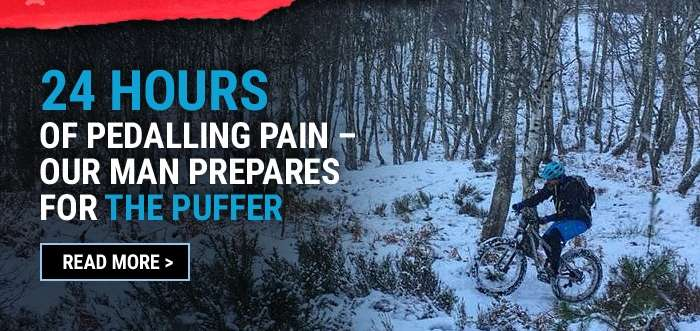24 hours of pedalling pain – Our man prepares for The Puffer