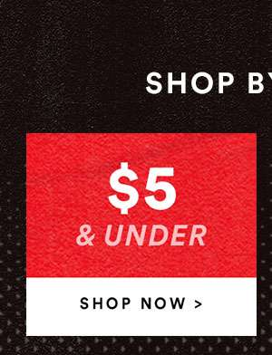 SALE $5 & Under