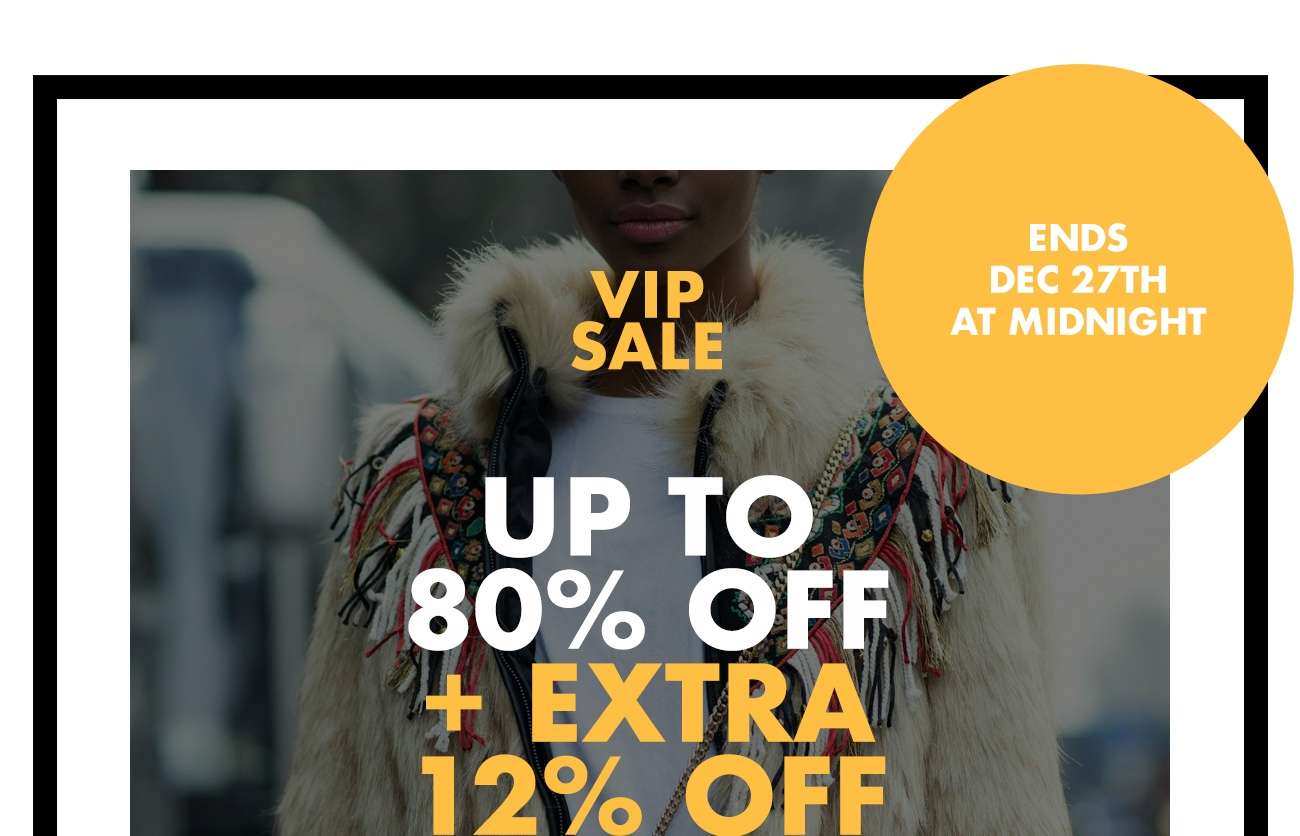 EXTRA 12% OFF SALE