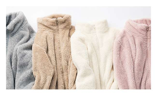 Fluffy Yarn Fleece on sale!