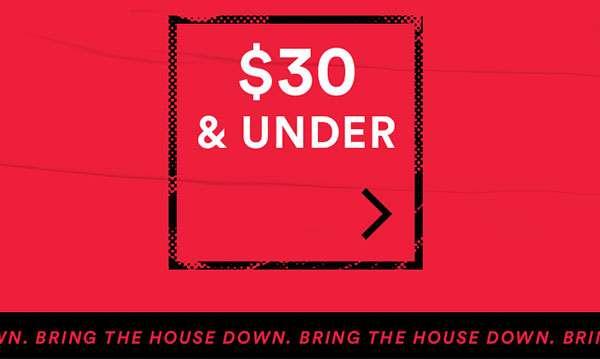 UNDER $30 | SHOP NOW