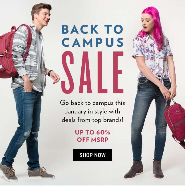 Back to Campus Sale