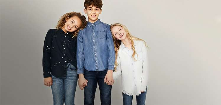 Up to 60% Off Jeans & Easy Tops for Kids