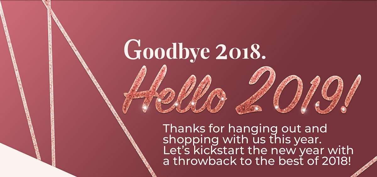 Goodbye 2018. Hello 2019
