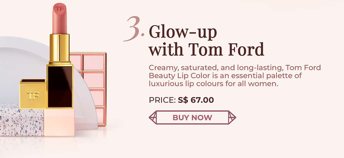 Tom Ford Beauty Lip Color is an essential palette of luxurious lip colours for all women