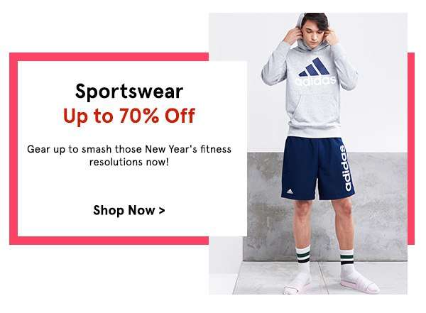 Sportswear Up to 70% Off