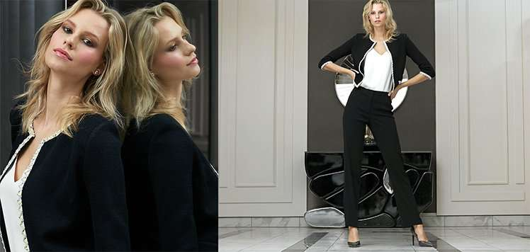 Structured Suiting With Elie Tahari