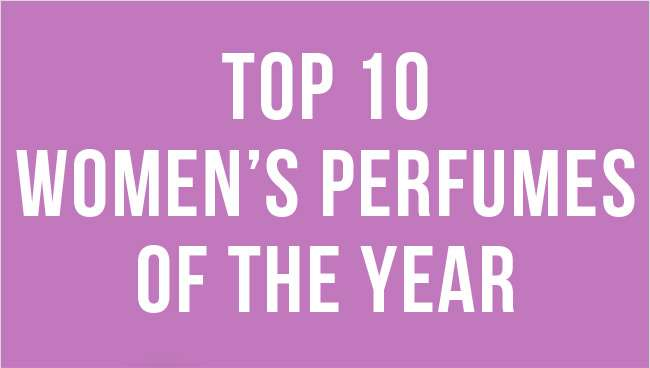 Top 10 Women's Perfumes of the year. Shop now