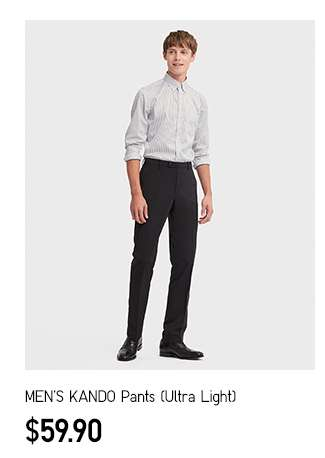 NEW! Men's KANDO Pants (Ultra Light) at $59.90