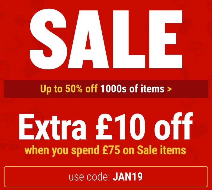 SALE: Up to 50% off 1000s of items