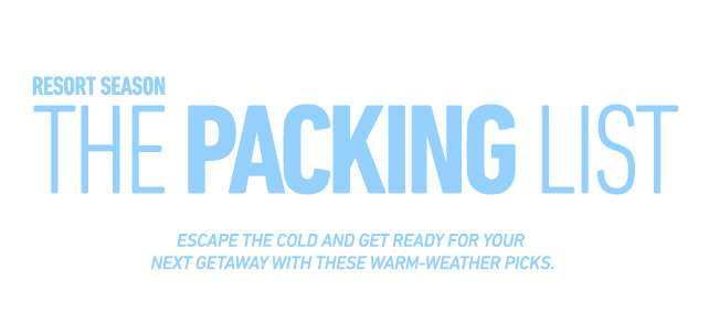 The Packing List