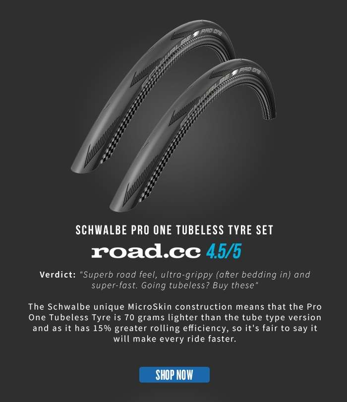 Schwalbe Pro One Tubeless Tyre Set