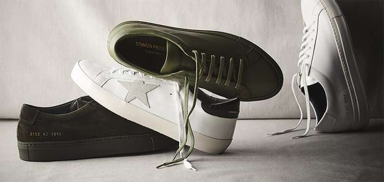 Common Projects, Golden Goose & More Luxe Sneakers