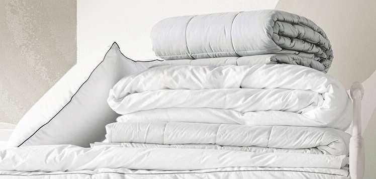 Down Comforters & More for Bundling Up
