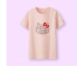 WOMEN's Sanrio Characters Graphic Short Sleeve T-Shirt at $14.90