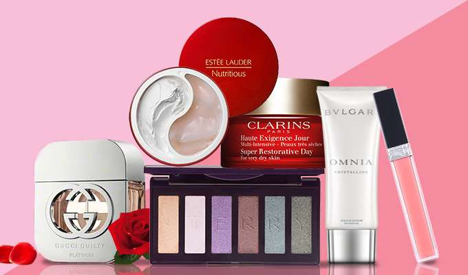 Valentine's Day Beauty Picks! Up to 70% Off! Serge Lutens, NARS, Gucci & more!